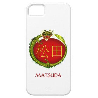 Dragón del monograma de Matsuda iPhone 5 Carcasa