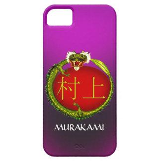 Dragón del monograma de Murakami iPhone 5 Funda