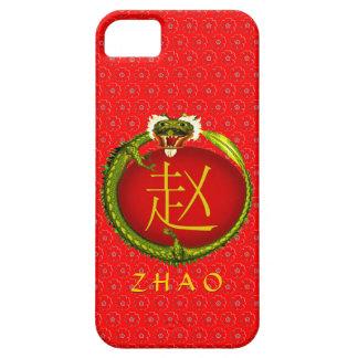 Dragón del monograma de Zhao Funda Para iPhone SE/5/5s