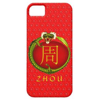 Dragón del monograma de Zhou Funda Para iPhone SE/5/5s