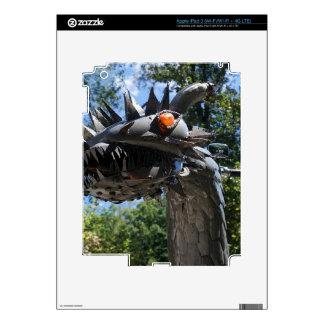 Dragón del motorista iPad 3 pegatina skin