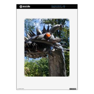 Dragón del motorista iPad skins
