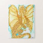 Dragón del oro puzzles