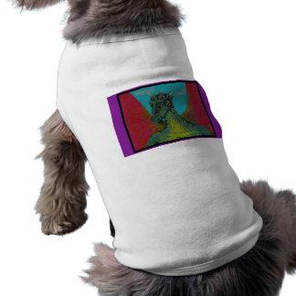 Dragón del pixel camisas de mascota