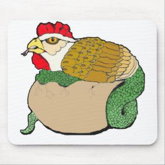 dragón del pollo tapetes de ratón