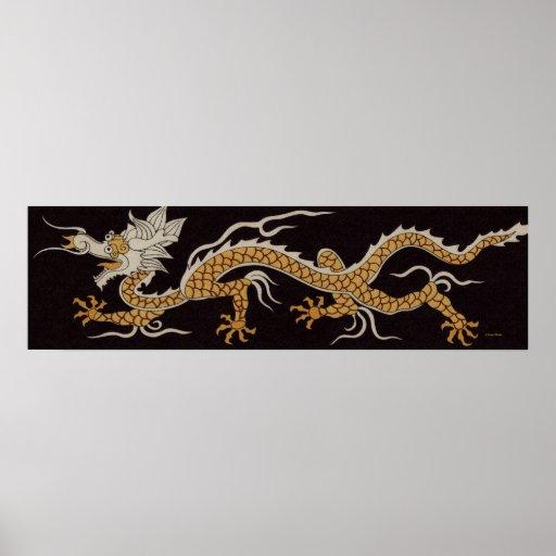 Dragón del poster de Buddhan