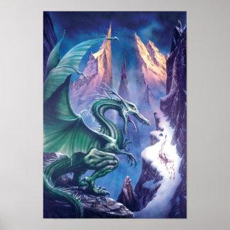 Dragón del poster del norte