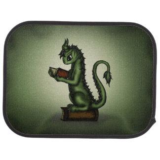 Dragón del ratón de biblioteca alfombrilla de auto