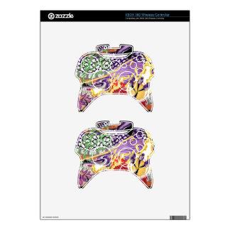 Dragón del regulador inalámbrico S de Lotus XBOX Mando Xbox 360 Skins