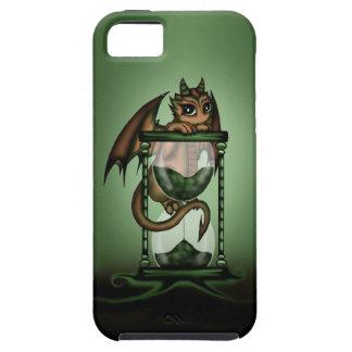 Dragón del reloj de arena iPhone 5 cobertura