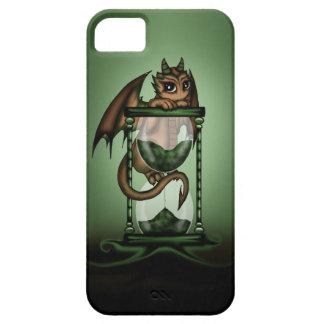 Dragón del reloj de arena iPhone 5 protectores