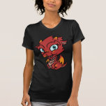 Dragón del rojo de Lil Camisetas