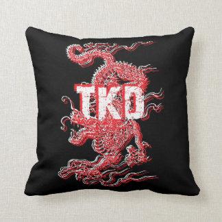 Dragón del Taekwondo Cojines