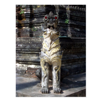 Dragón del templo tarjetas postales