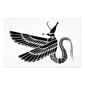 Dragon - demon of ancient Egypt Stationery
