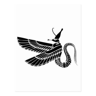 Dragón - demonio de Egipto antiguo Postales