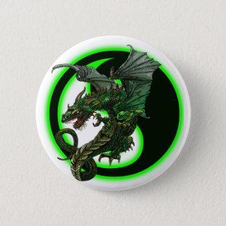 Dragon design pinback button
