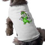 Dragón divertido camisetas de mascota