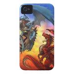 dragón dos Case-Mate iPhone 4 fundas