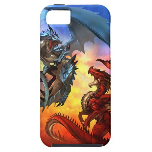 dragón dos iPhone 5 Case-Mate carcasas