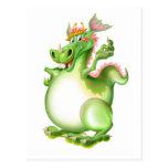 Dragón, Drachen, dragão, dragón, Tarjeta Postal
