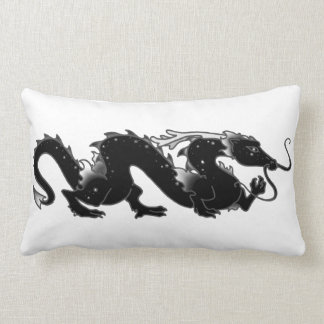 Dragon Dragon Black and White Pillow