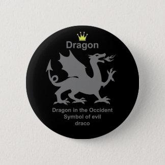 dragon dragon dragon pinback button