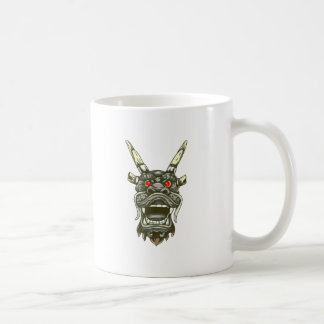 Dragon dragon head dragon head coffee mug