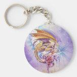 Dragon Dreams Basic Round Button Keychain