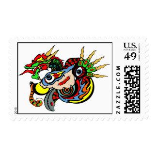Dragon Dreams Postage