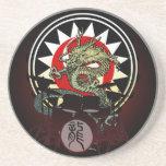 Dragon Drum 06 Drink Coasters