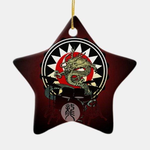 Dragon Drum 06 Ornament