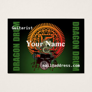 Dragon drum business card