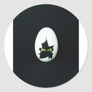 Dragon Egg Classic Round Sticker