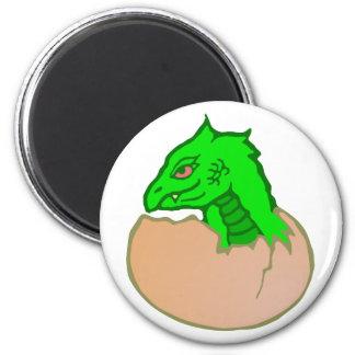 Dragon egg dragon egg 2 inch round magnet