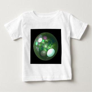 Dragon Egg Fractal Design Baby T-Shirt