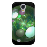 Dragon Egg Fractal Design Samsung Galaxy S4 Cases