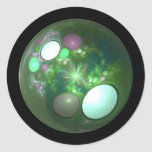 Dragon Egg Fractal Design Sticker