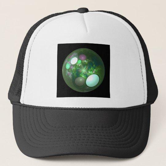 Dragon Egg Fractal Design Trucker Hat