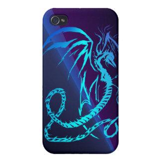 Dragón eléctrico - es iPhone 4/4S fundas
