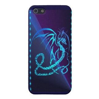 Dragón eléctrico - es iPhone 5 fundas