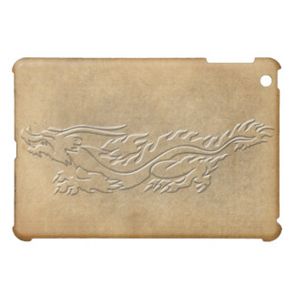 Dragon - Embossed look with burnt edges Cover For The iPad Mini