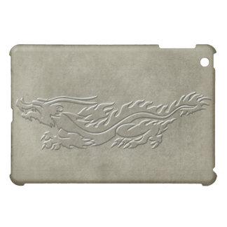 Dragon - Embossed look with burnt edges iPad Mini Case