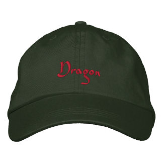 Dragon Embroidered Cap / Hat