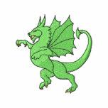 Dragon Embroidered Polo Shirt