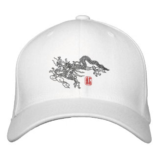 Dragon Embroidery Embroidered Hat