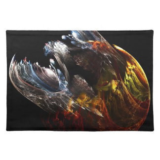 Dragon Emerging Cloth Placemat