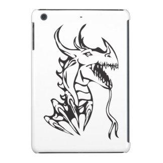 Dragón en blanco carcasa para iPad mini