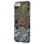 Dragón en el mar funda de iPhone 6 plus barely there
