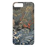 Dragón en el mar funda iPhone 7 plus